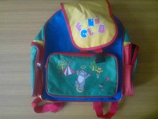 Plecak szkolny kolorowy prawie nowy warto możliwa zamiana, wysyłka !