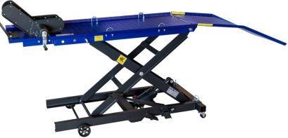 Bancada Elevador Hidráulico para motos capac. 360 kg Plataf. 1345mm
