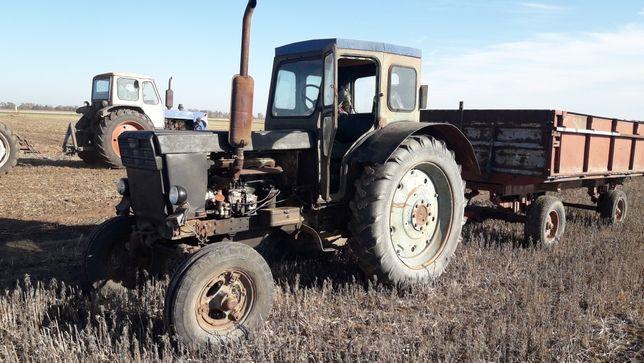 Трактор Т40 в рабочем состоянии