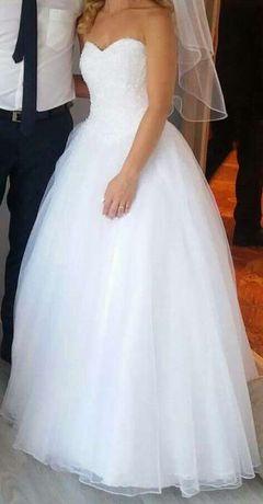 Suknia ślubna princeska 158 r.34
