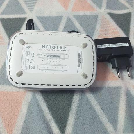 Netgear swich i router