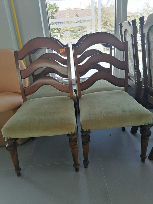 Krzesła zielone antyk okazja Olsztyn - image 1