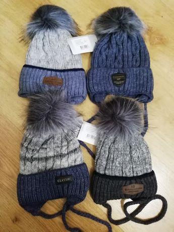 Зимний набор на мальчика/ шапка и снуд