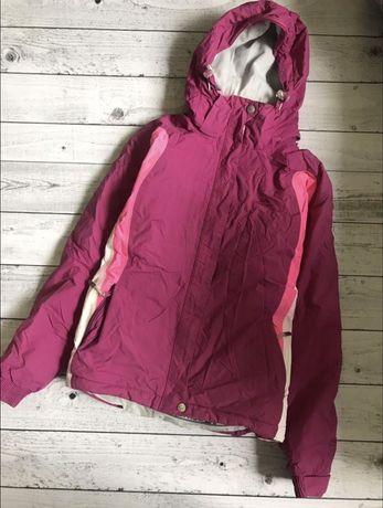 Куртка лыжная спортивная Trespass яркая малиновая сноуборд