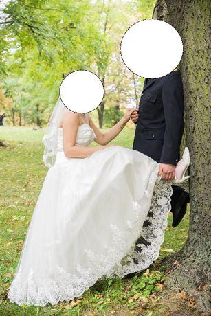 Suknia ślubna na wzrost 177 cm