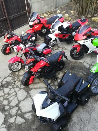 Najnowszy Motor Motorek Shadow na akumulator