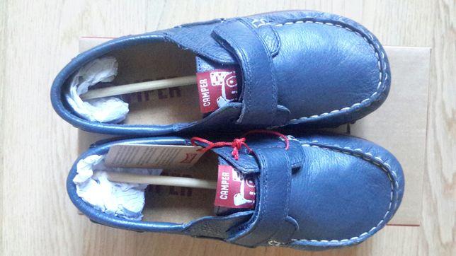 Туфли, мокасины, полуботинки кожаные camper ессо, размер 34