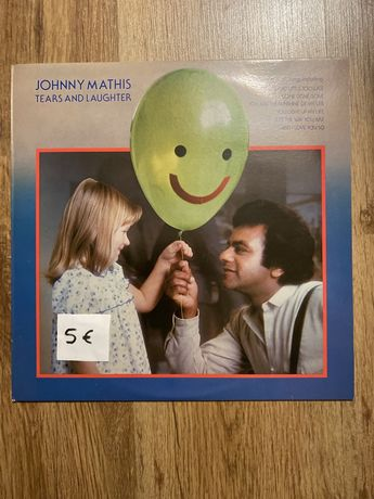 Vinil Johnny Mathis teata and laughter
