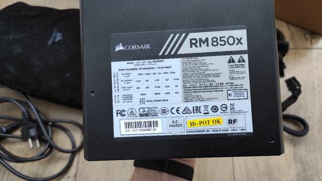 Блок питания Corsair RM850x / 80 PLUS Gold / Корсар РМ 850 / Corsair 8