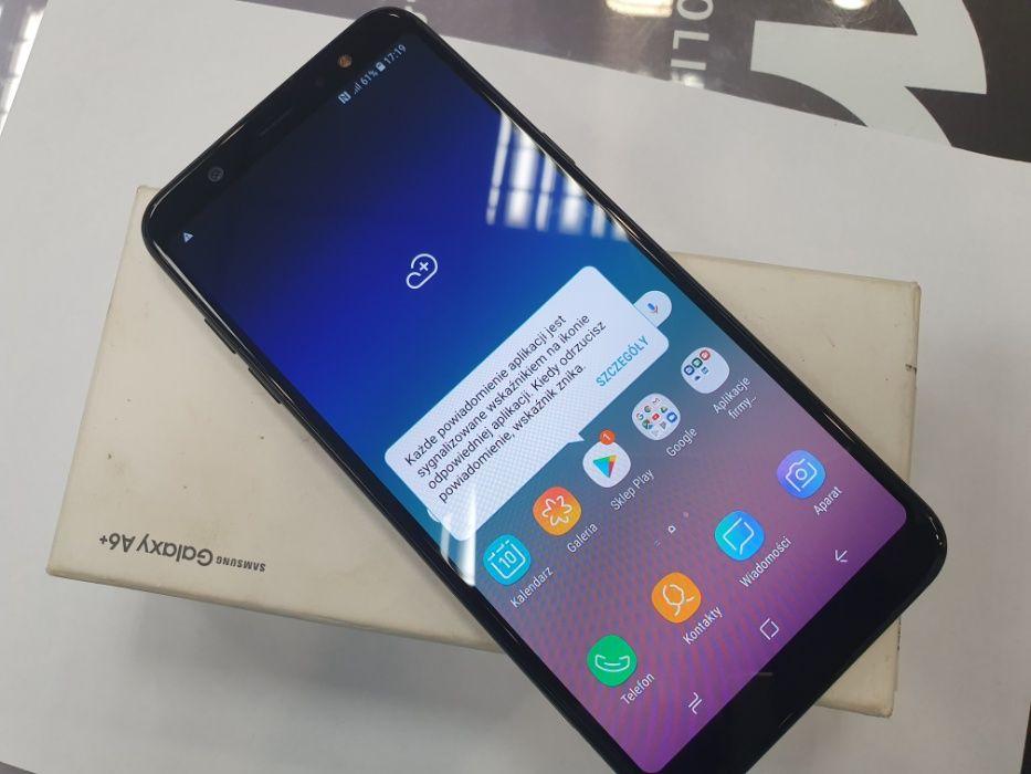 Samsung Galaxy A6 Plus Dual SIM/ Czarny / 100% sprawny/ Gwarancja Gdynia - image 1