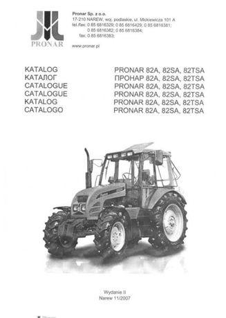 Katalog części PRONAR 82 A 82 SA 82 TSA