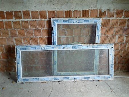 Okno balkonowe / tarasowe 2295x 865