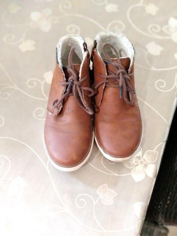 Кожаные ботинки,хайтопы Некст