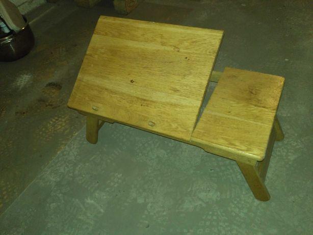 Деревянный компьютерный столик