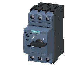 Siemens Wyłącznik silnikowy 3P 0,37kW 0,9-1,25A S00 3RV2011-0KA10