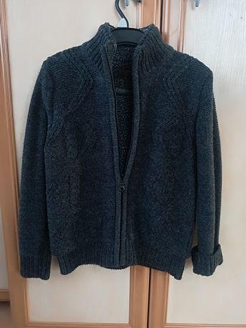 Sweter cherokee ocieplany, z kożuszkiem