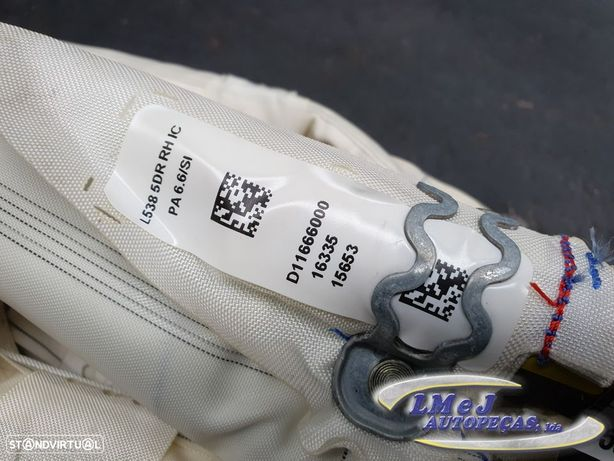 Airbag cortina Dto Usado LAND ROVER/RANGE ROVER EVOQUE (L538)/2.0 4x4 | 06.11 -