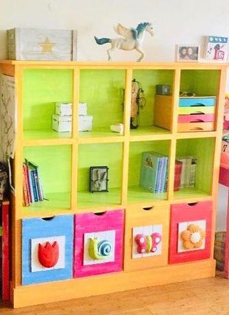 Estante, com gavetões, para quarto de Criança, da Oficina à Lapa
