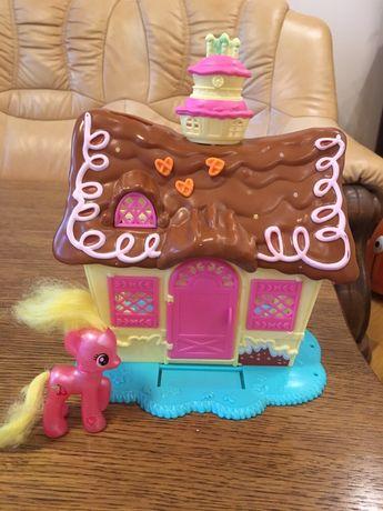 Хатинка My little pony. Оригінал. Замок. Хатка