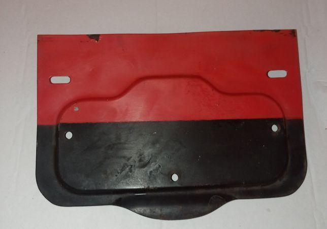 Задняя рамка под чёрные номера ( Москвич )
