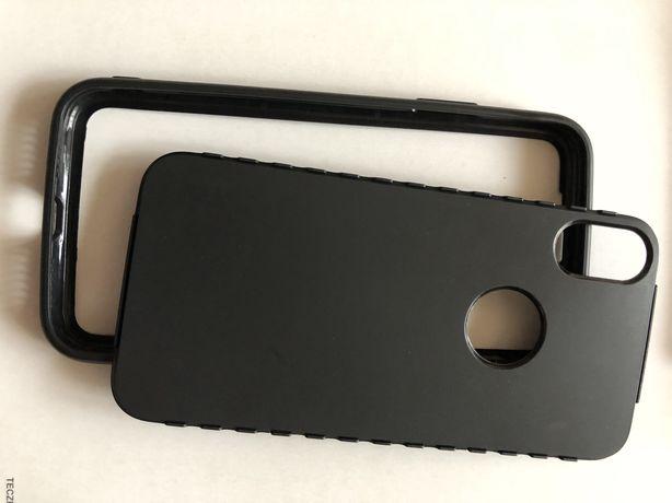 IPhone X obudowa sylikonowa 2 czesciowa
