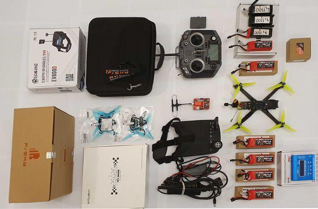 Dron FPV , cały zestaw skonfigurowany i gotowy do latania
