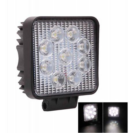 Светодиодная LED фара рабочая 27Вт 9 ламп по 3 Вт Люстра BAR МТЗ ЮМЗ