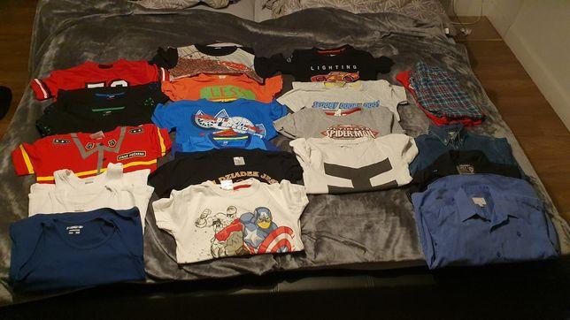 Ubranka dla chłopca 116-128