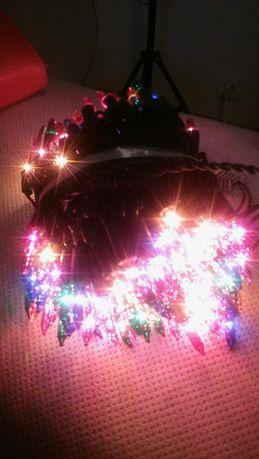 Lampki choinkowe  żaróweczki 200 szt.