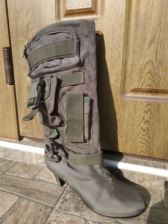 Сапоги женские,mililitary,воєнные,обувь,камуфляж,женская обувь