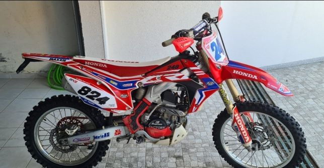 HONDA 250 CRF 2014 matriculada