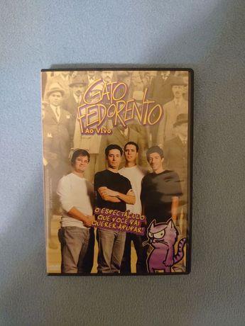 DVD Gato Fedorento Ao Vivo