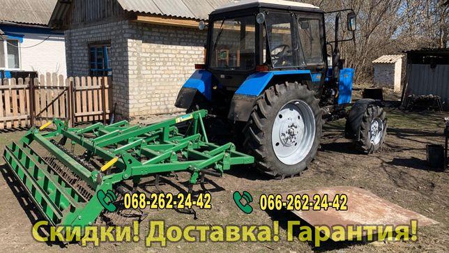Культиватор КПН для трактора ЮМЗ МТЗ ХТЗ Т150 навесной прицепной