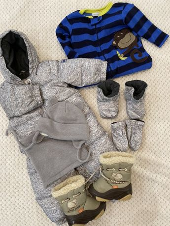 Зимний комплект на мальчика 12-18