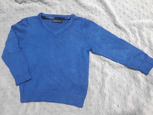 Reserved elegancki sweterek chłopięcy r.86