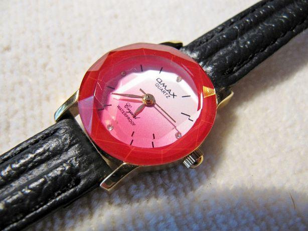Часы Omax 2001 года, женские, кварцевые, новые,механизм EPSON