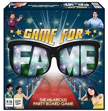 """Игра """" Game For Fame"""" The hilarious party board game."""