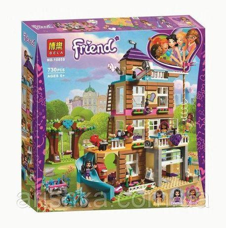 """КонструкторBela 10859 Friends """"Дом дружбы"""", 808 дет."""