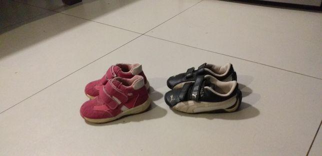 Zestaw butów dla dziewczynki w rozm.22-23 puma