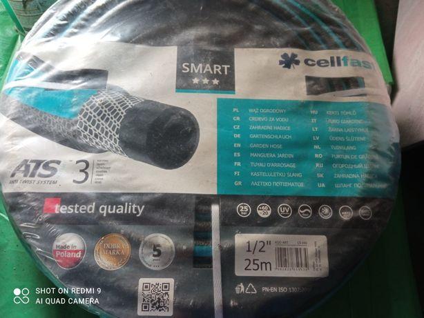 Wąż ogrodowy Cellfast Smart 1/2 stojak zwijak 100 mb