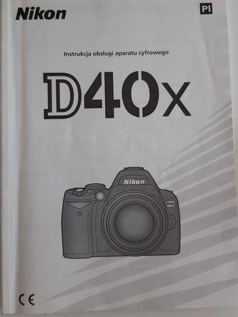 Nikon D40X instrukcja