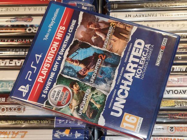 Uncharted Kolekcja 1-3 PL (możliwość wymiany)