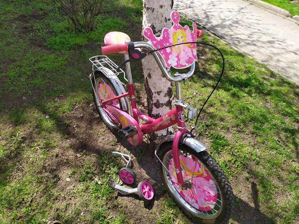 Детский велосипед для девочки . Колеса 18 дюймов