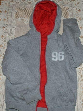 Bluza z kapturem r 140