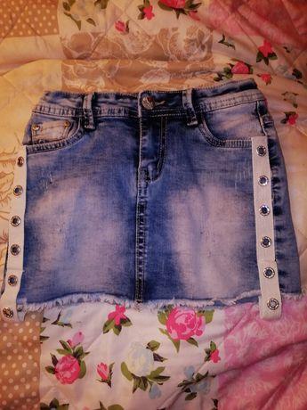 Spódniczka jeansowa rozmiar 122