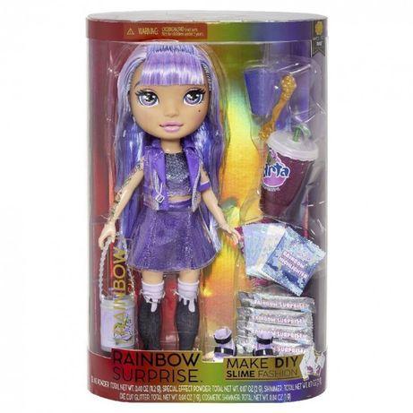 Poopsie rainbow high girls кукла Фиолетовая Леди Amethyst Rae