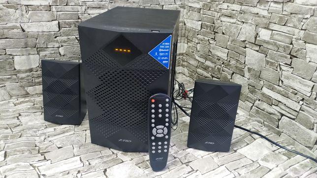 Акустика/колонки F&D a180x/42вт/Bluetooth/USB/пульт