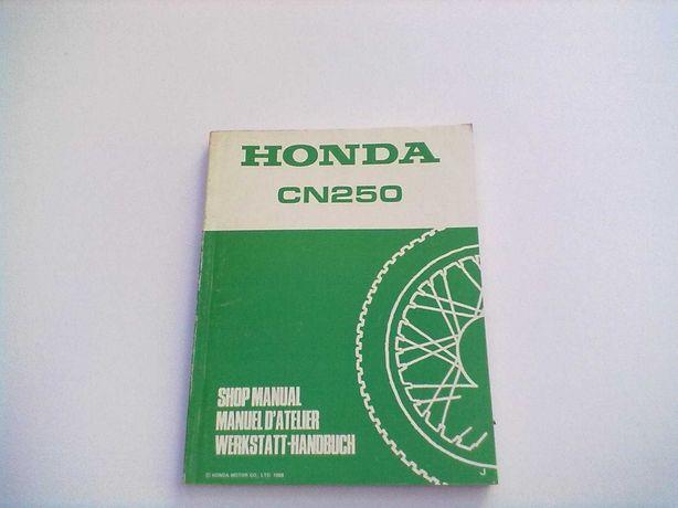 Manual Técnico oficial Honda Helix CN 250