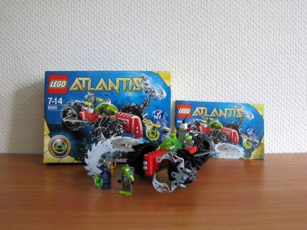 Lego ATLANTIS 8059 Odkrywca Dna Morskiego, pudełko, instrukcja