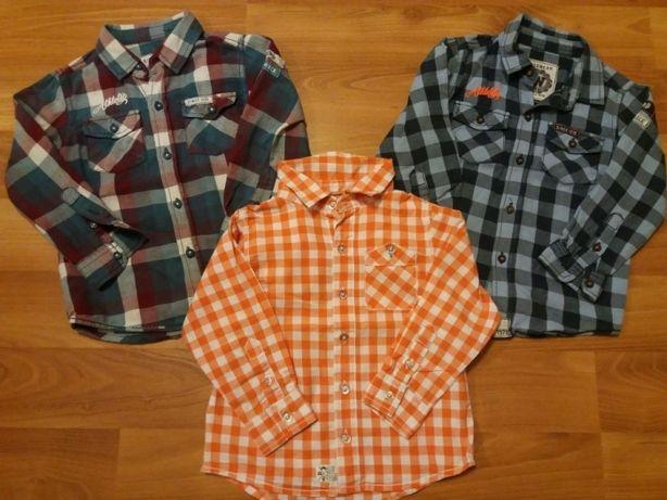 Koszule chłopięce Reserved i Kappahl (rozmiar 92cm)